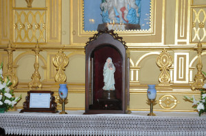 STATUE AND RELIC OF MOTHER TERESA INSTALLED ON 13.11.2013