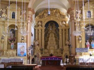 MAIN ALTAR DEDICATED TO OUR LADY OF HOPE